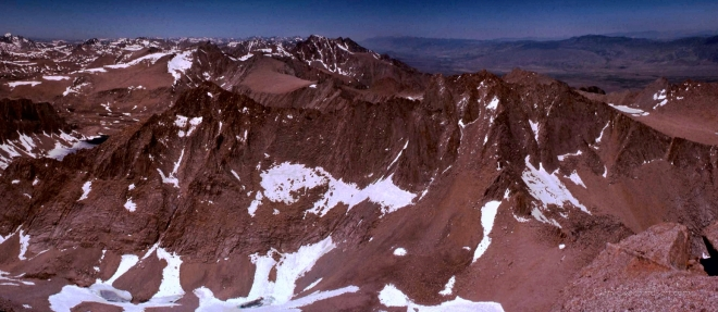North from Whitney